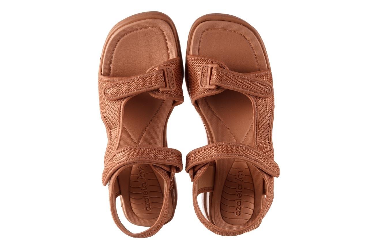 Sandały azaleia 320 323 nude 20, róż, materiał - płaskie - sandały - buty damskie - kobieta 13