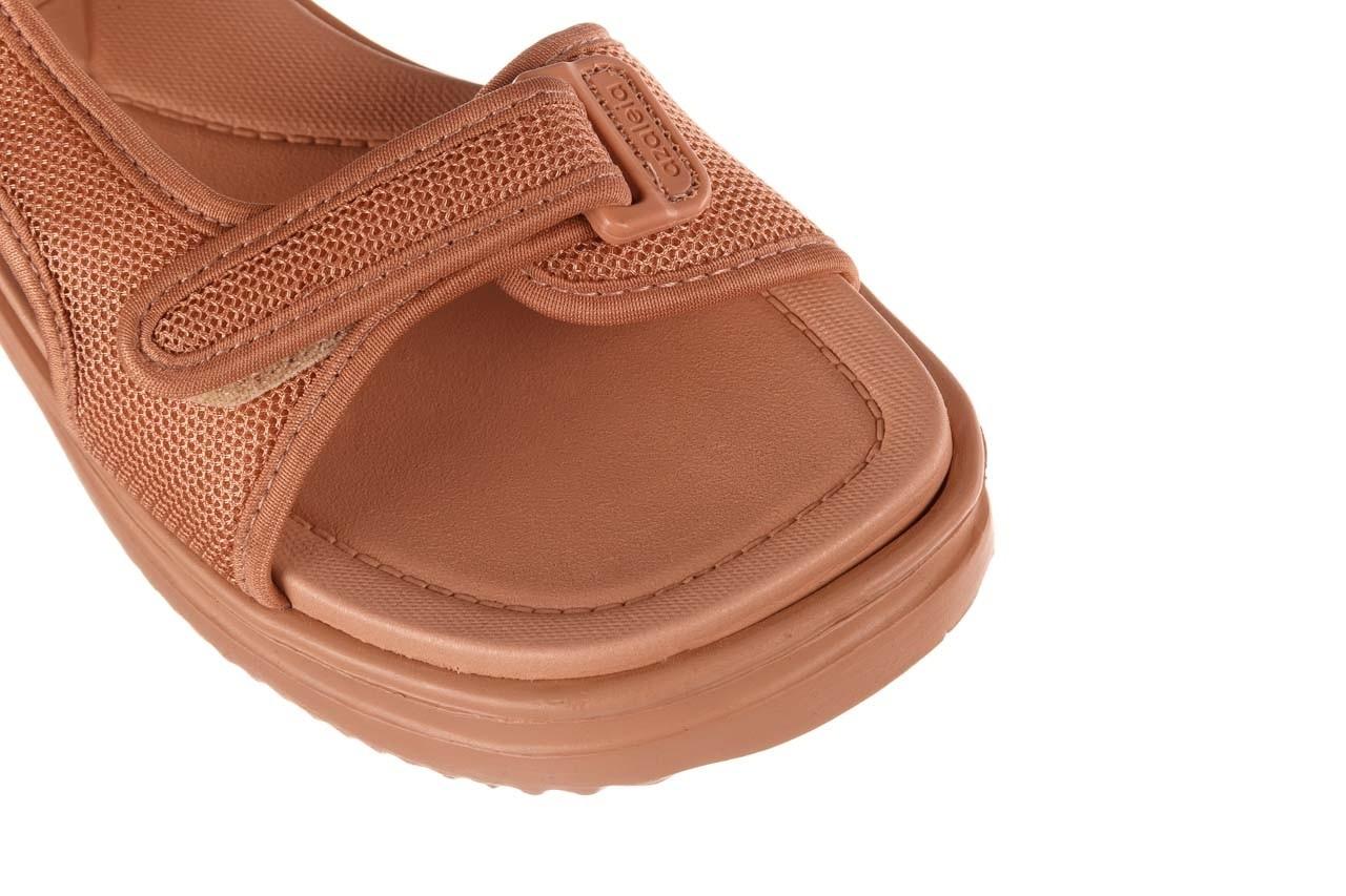 Sandały azaleia 320 323 nude 20, róż, materiał - płaskie - sandały - buty damskie - kobieta 14