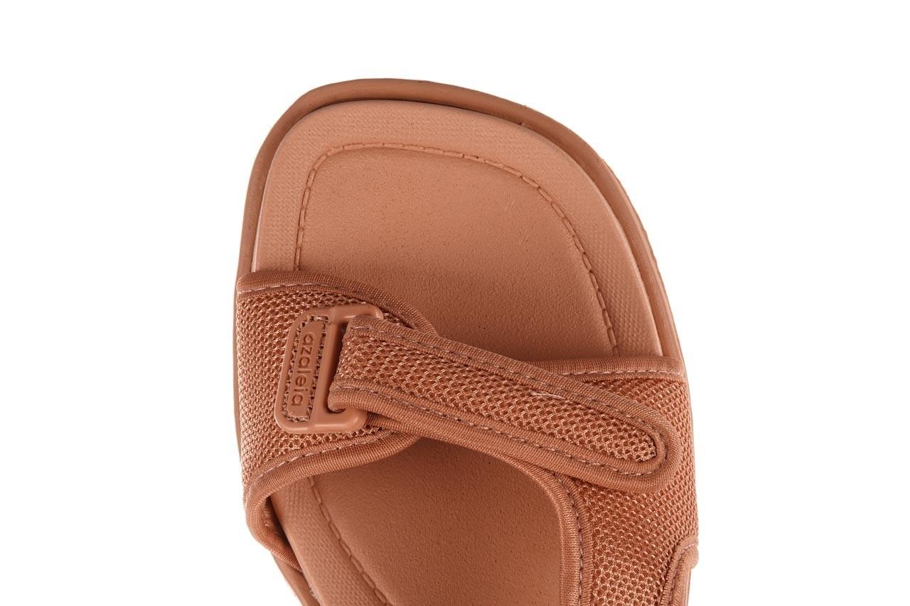 Sandały azaleia 320 323 nude 20, róż, materiał - płaskie - sandały - buty damskie - kobieta 16