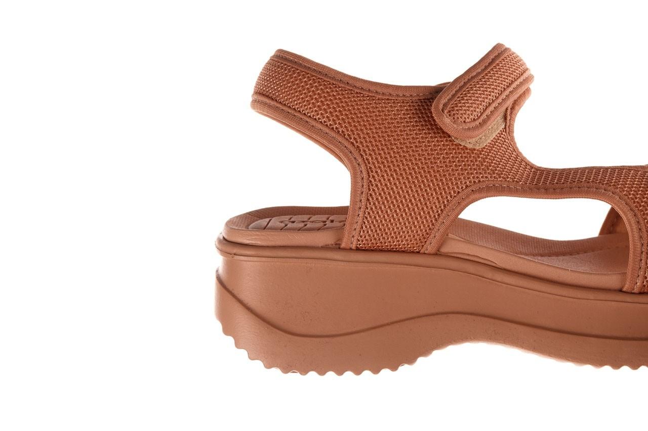 Sandały azaleia 320 323 nude 20, róż, materiał - płaskie - sandały - buty damskie - kobieta 17