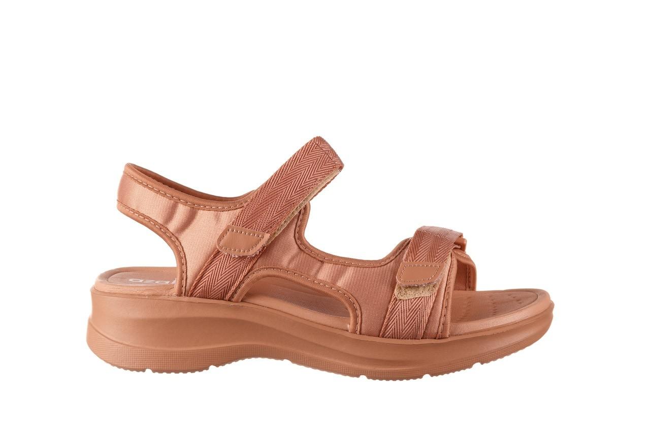 Sandały azaleia 330 560 nude, róż, materiał - płaskie - sandały - buty damskie - kobieta 8