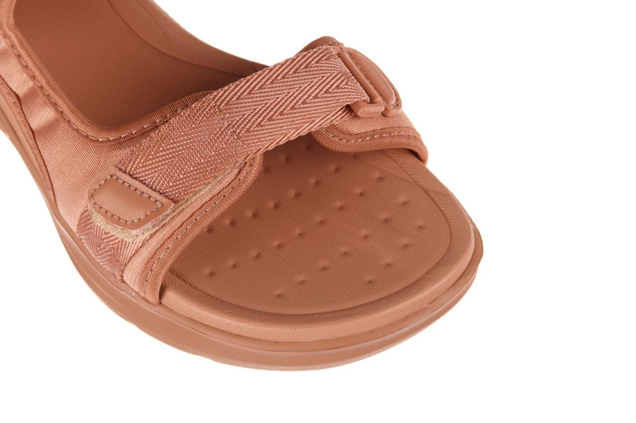 Sandały azaleia 330 560 nude, róż, materiał - płaskie - sandały - buty damskie - kobieta 13