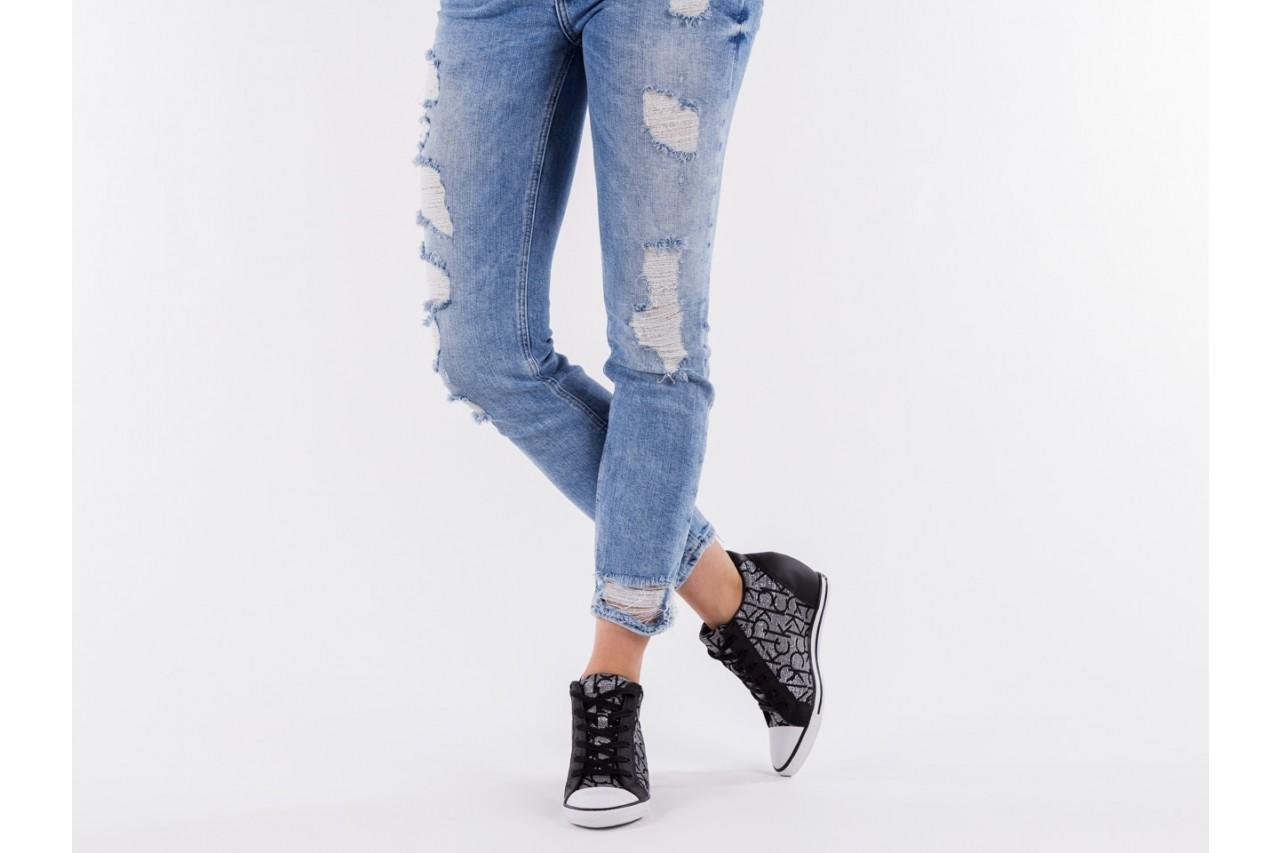 Calvin klein jeans vero jacquard silver-black - calvin klein jeans - nasze marki 13