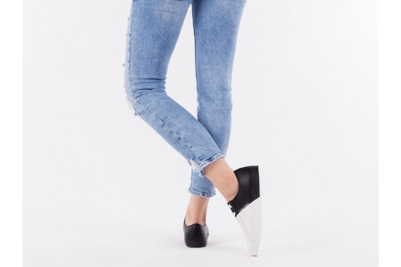 Calvin klein jeans wanda matte smooth black-white 3 - calvin klein jeans - nasze marki 13