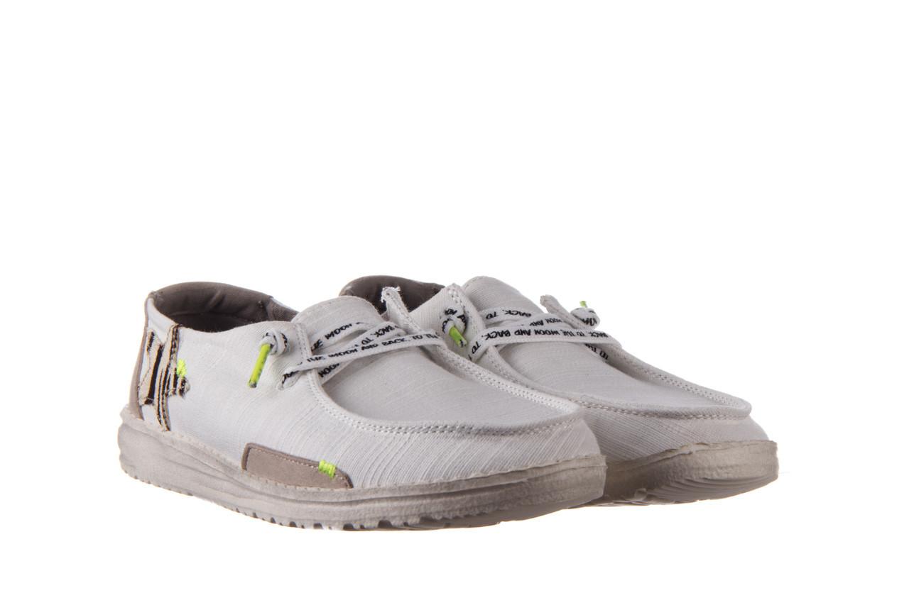 Półbuty heydude wendy star white, biały, materiał - sznurowane - półbuty - buty damskie - kobieta 9