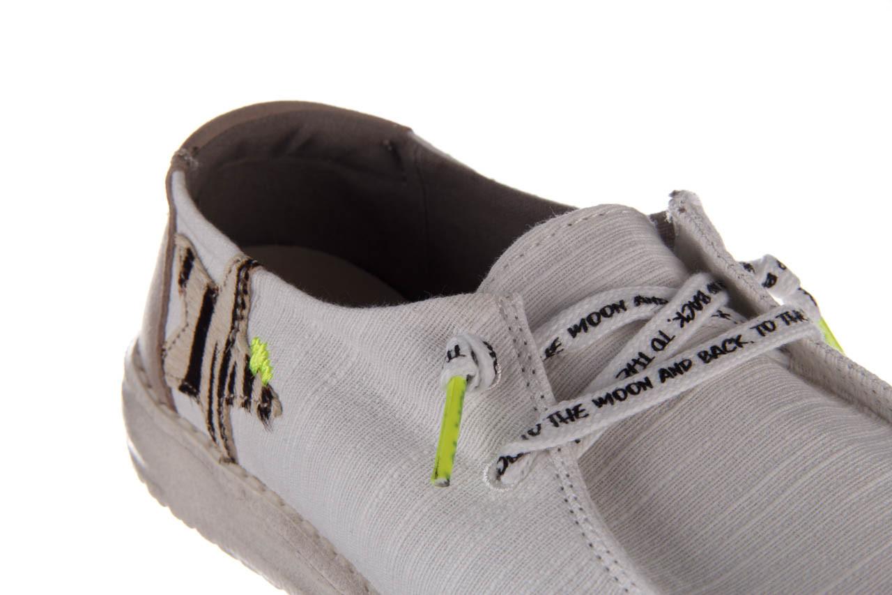 Półbuty heydude wendy star white, biały, materiał - sznurowane - półbuty - buty damskie - kobieta 14