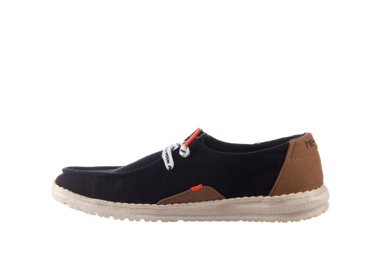 Półbuty heydude wendy star black, czarny, materiał - sznurowane - półbuty - buty damskie - kobieta 10