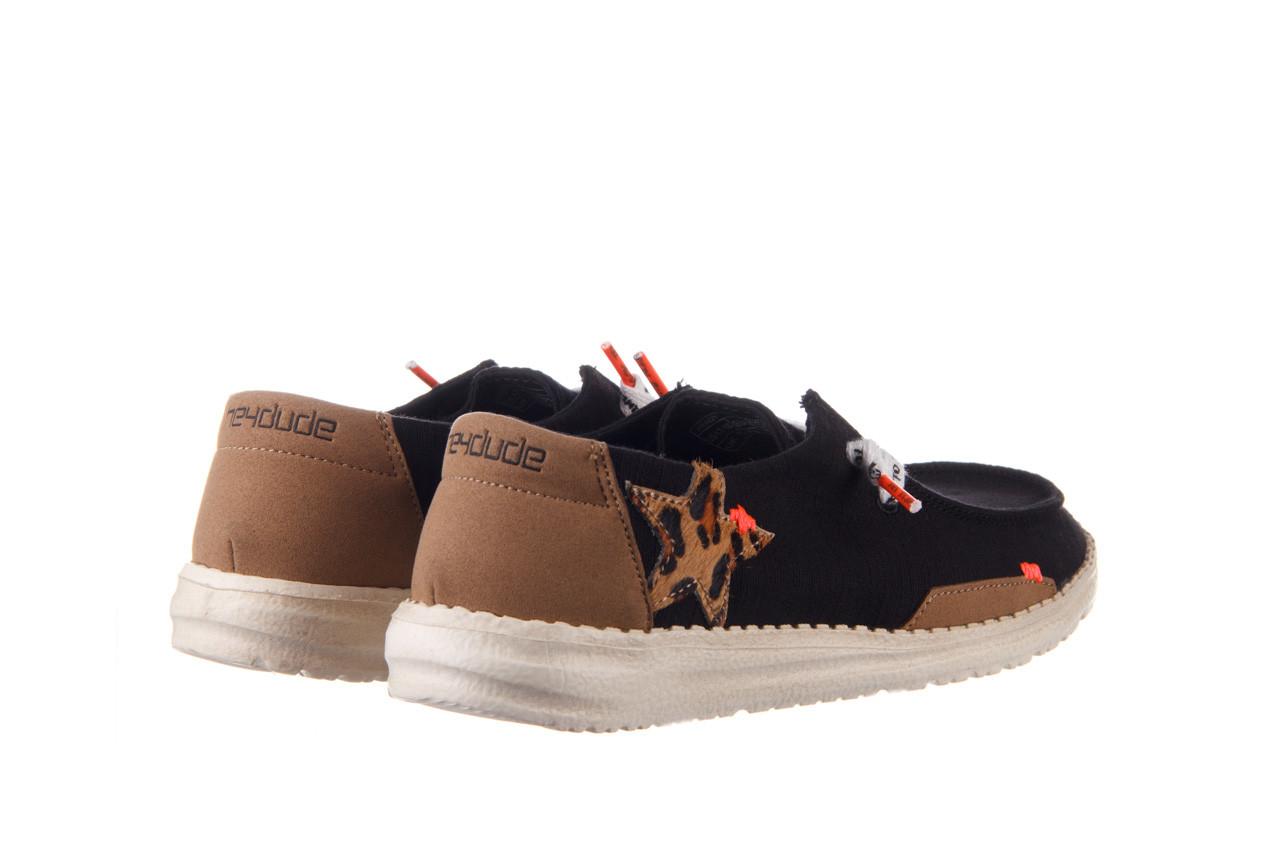 Półbuty heydude wendy star black, czarny, materiał - sznurowane - półbuty - buty damskie - kobieta 11