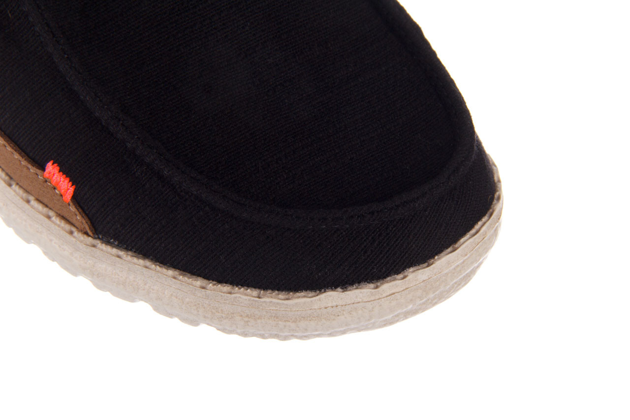 Półbuty heydude wendy star black, czarny, materiał - sznurowane - półbuty - buty damskie - kobieta 13