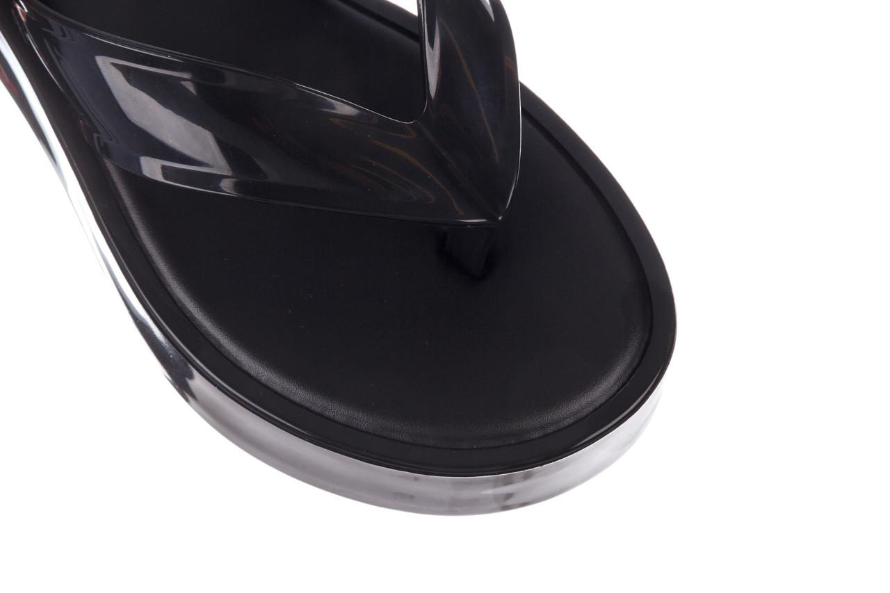 Klapki melissa beige ad black 010331, czarny, guma  - melissa - nasze marki 13