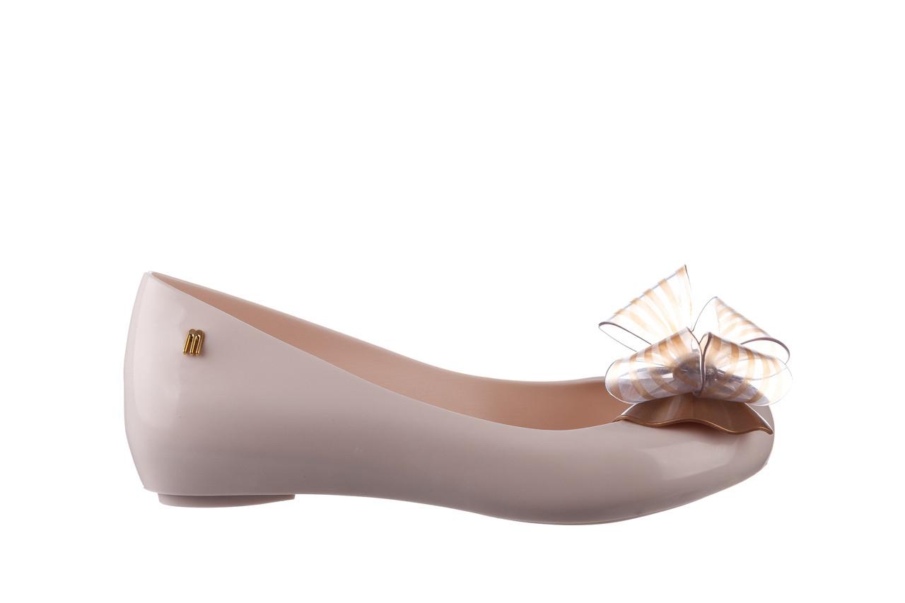 Baleriny melissa ultragirl sweet xviii ad beige gold 010327, beż, guma - baleriny - melissa - nasze marki 7