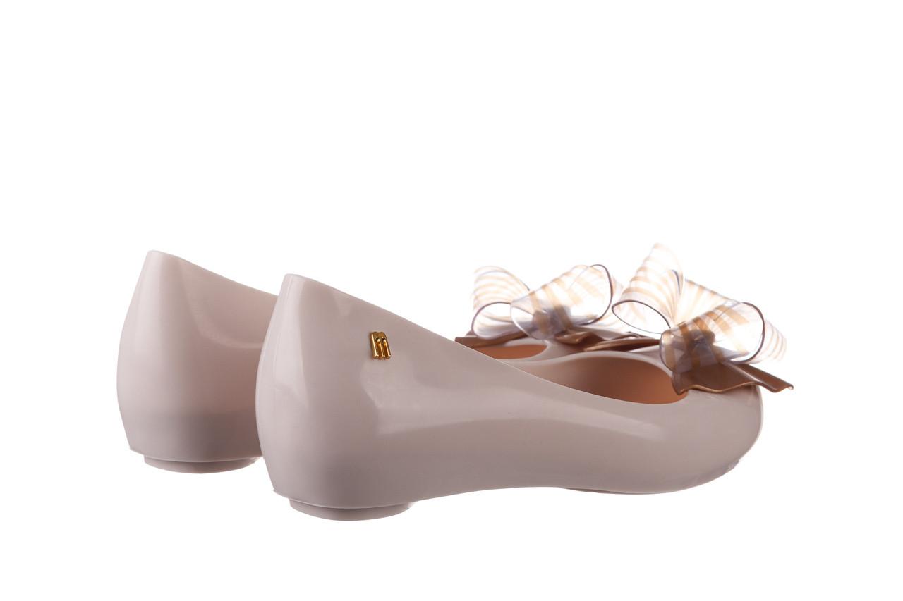 Baleriny melissa ultragirl sweet xviii ad beige gold 010327, beż, guma - baleriny - melissa - nasze marki 10