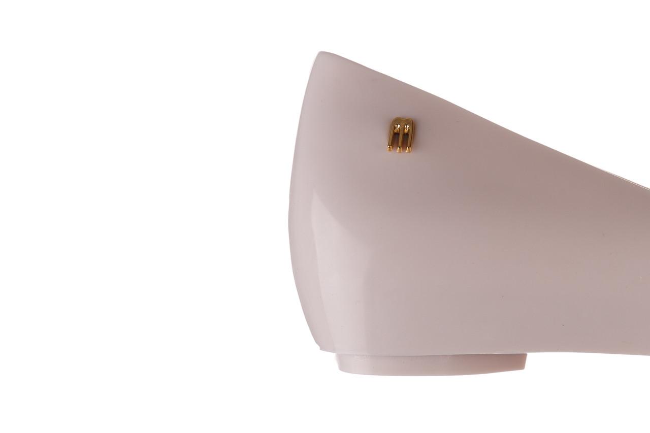 Baleriny melissa ultragirl sweet xviii ad beige gold 010327, beż, guma - baleriny - melissa - nasze marki 13