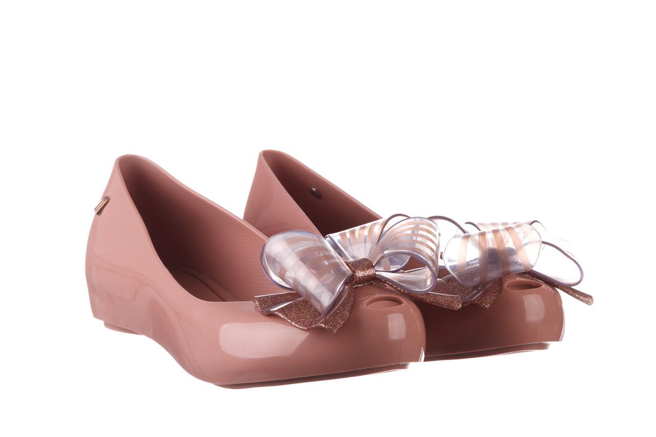 Baleriny melissa ultragirl sweet xviii ad pink pink glitter 010328, róż, guma - kobieta 8
