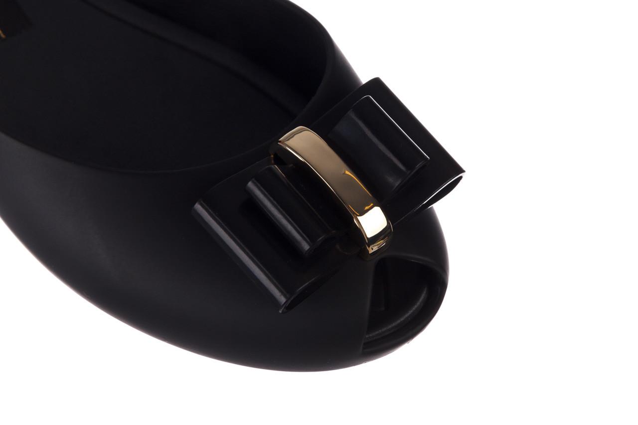 Baleriny melissa queen v ad black 20 010332, czarny, guma - kobieta 13