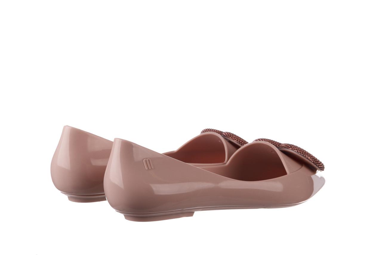 Baleriny melissa pointy heart ad soft pink 010329, róż, guma  - kobieta 11