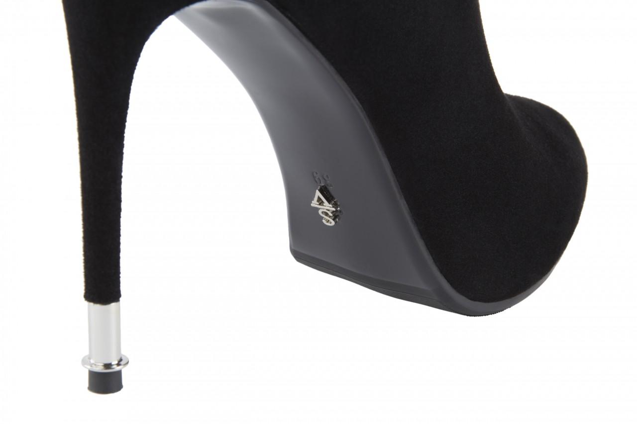 Botki sca'viola w3322d-6041r black suede, czarny, skóra naturalna - sca`viola - nasze marki 11