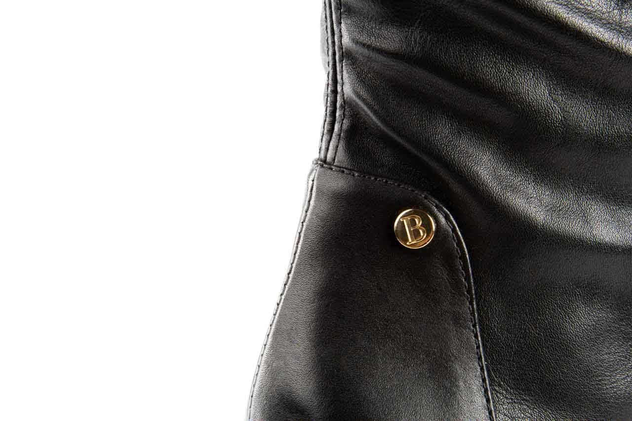 Kozaki bayla-067 118150 veg stre black noir, czarny, skóra naturalna - za kolano / muszkieterki - kozaki - buty damskie - kobieta 10