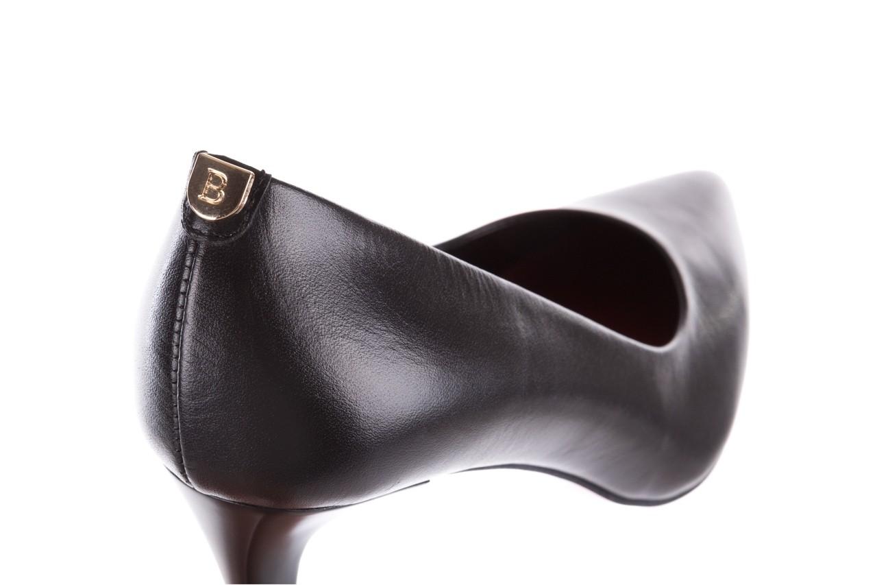 Czółenka bayla-056 1816-08 czarne 20, skóra naturalna  - szpilki - buty damskie - kobieta 11