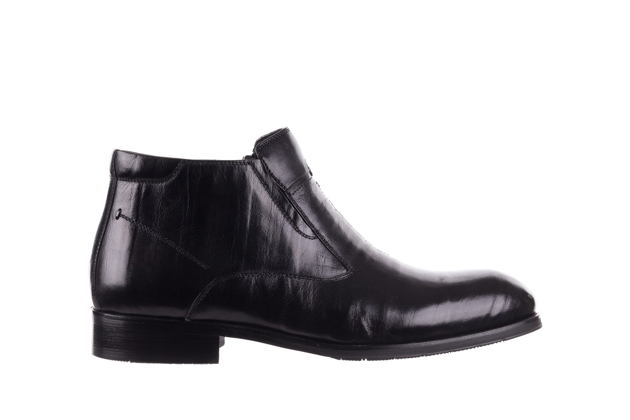 Trzewiki john doubare ygfr-z101-808-1 black, czarne, skóra naturalna - bayla exclusive - trendy - mężczyzna 8