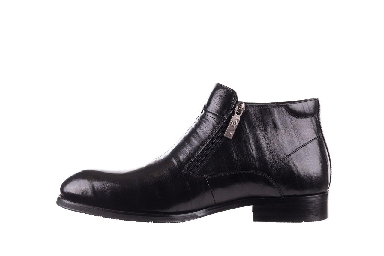 Trzewiki john doubare ygfr-z101-808-1 black, czarne, skóra naturalna - bayla exclusive - trendy - mężczyzna 10