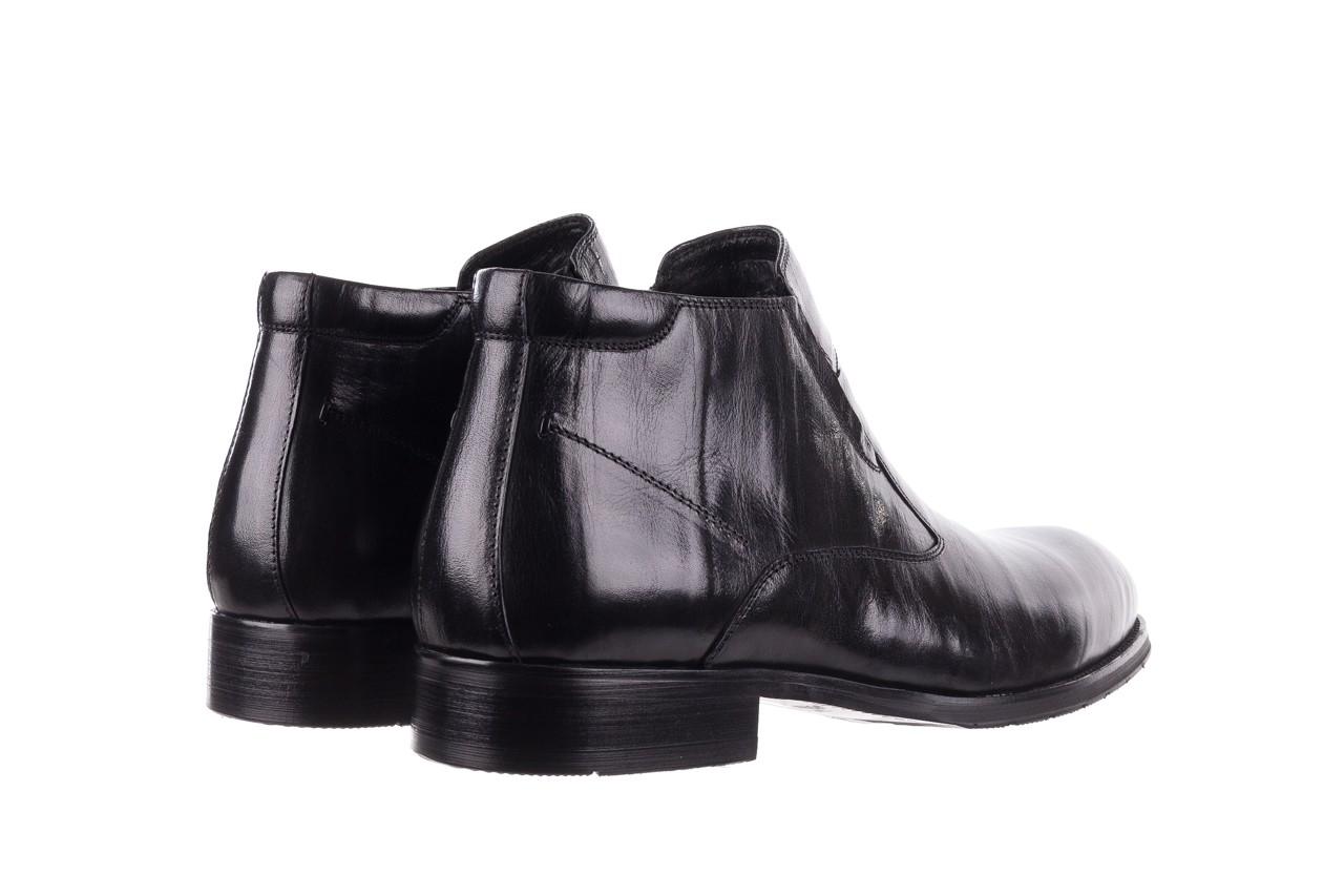 Trzewiki john doubare ygfr-z101-808-1 black, czarne, skóra naturalna - bayla exclusive - trendy - mężczyzna 11