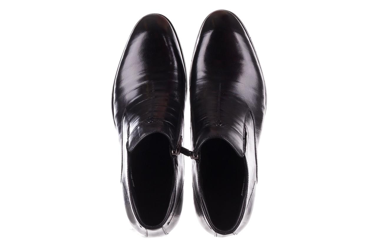 Trzewiki john doubare ygfr-z101-808-1 black, czarne, skóra naturalna - bayla exclusive - trendy - mężczyzna 12