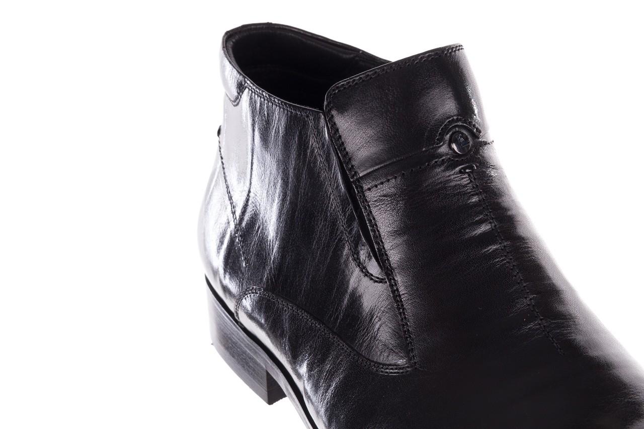 Trzewiki john doubare ygfr-z101-808-1 black, czarne, skóra naturalna - bayla exclusive - trendy - mężczyzna 13