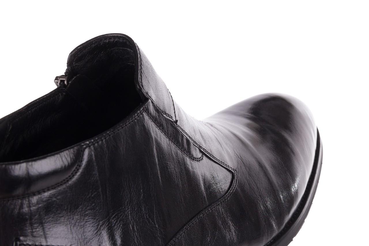 Trzewiki john doubare ygfr-z101-808-1 black, czarne, skóra naturalna - bayla exclusive - trendy - mężczyzna 14