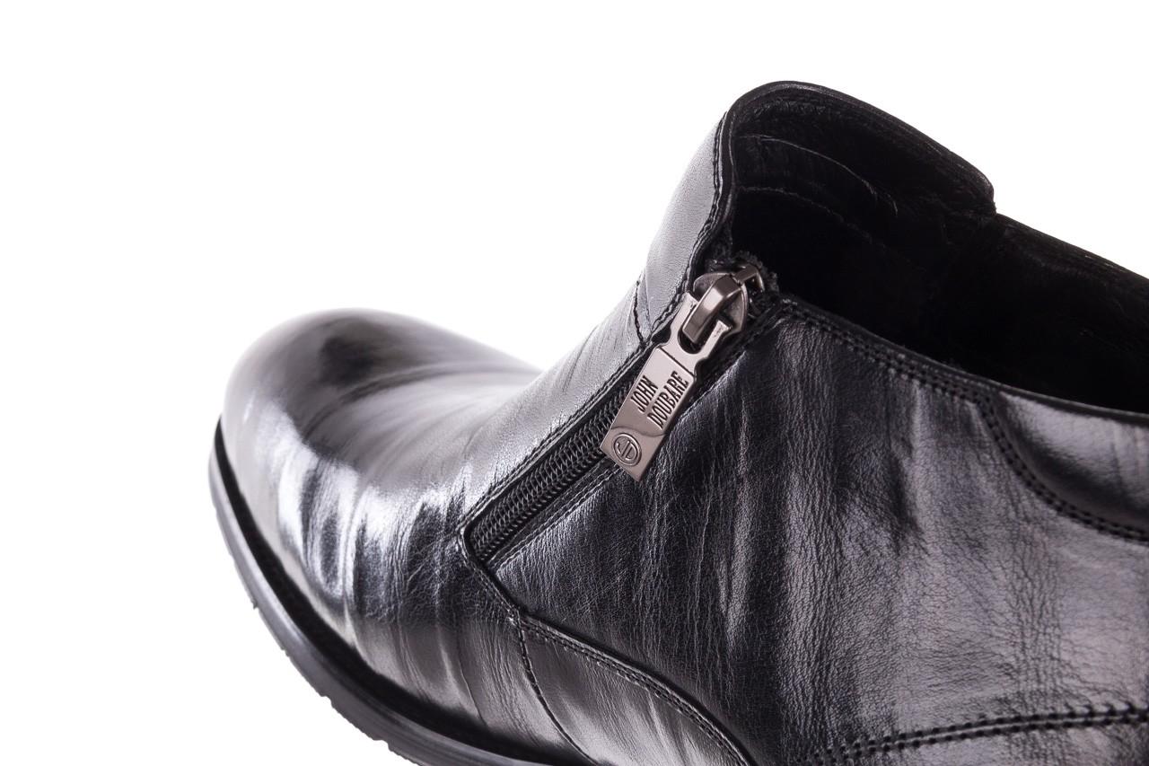 Trzewiki john doubare ygfr-z101-808-1 black, czarne, skóra naturalna - bayla exclusive - trendy - mężczyzna 15
