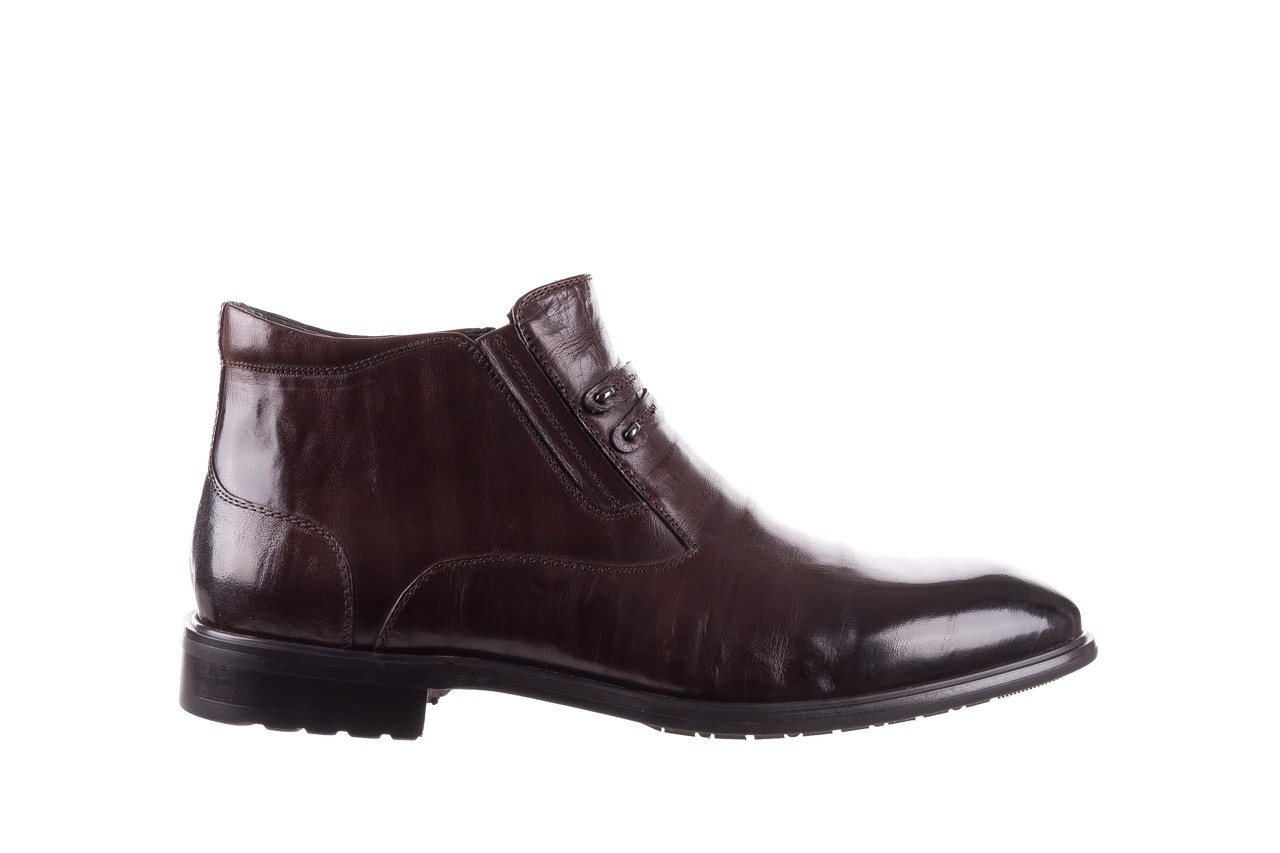 Półbuty john doubare ygfr-z102-310-1 brown, brązowe, skóra naturalna - bayla exclusive - trendy - mężczyzna 8