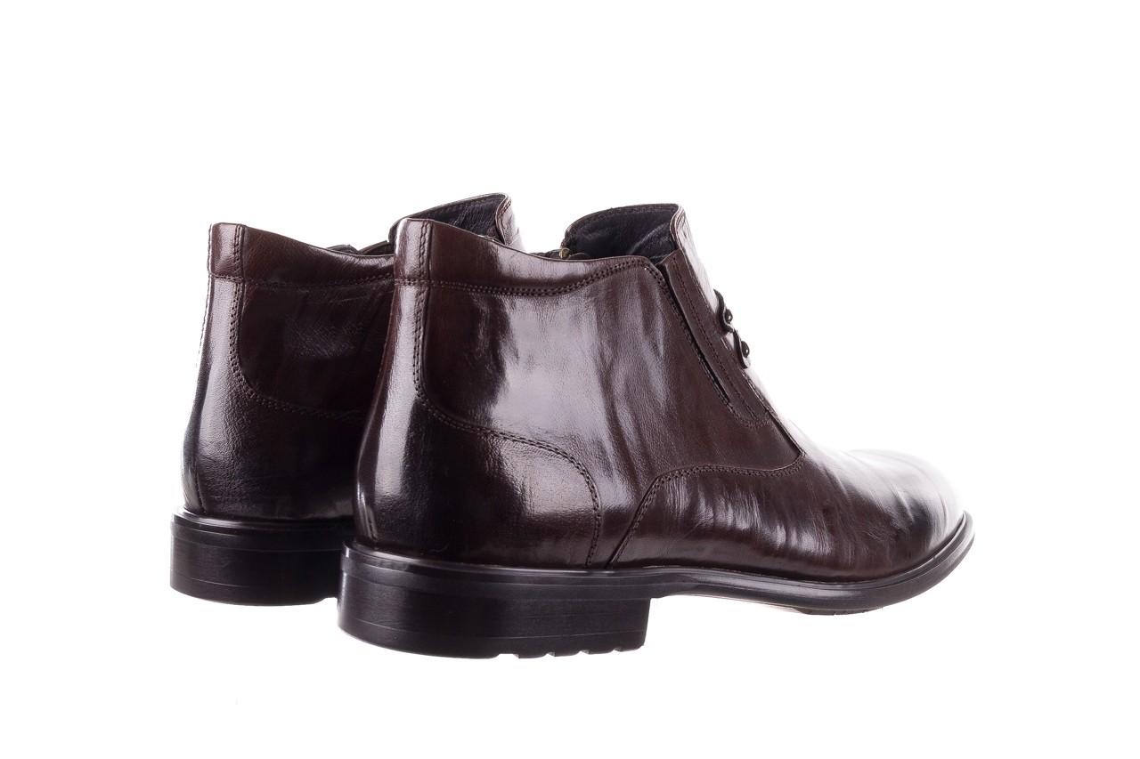 Półbuty john doubare ygfr-z102-310-1 brown, brązowe, skóra naturalna - bayla exclusive - trendy - mężczyzna 11