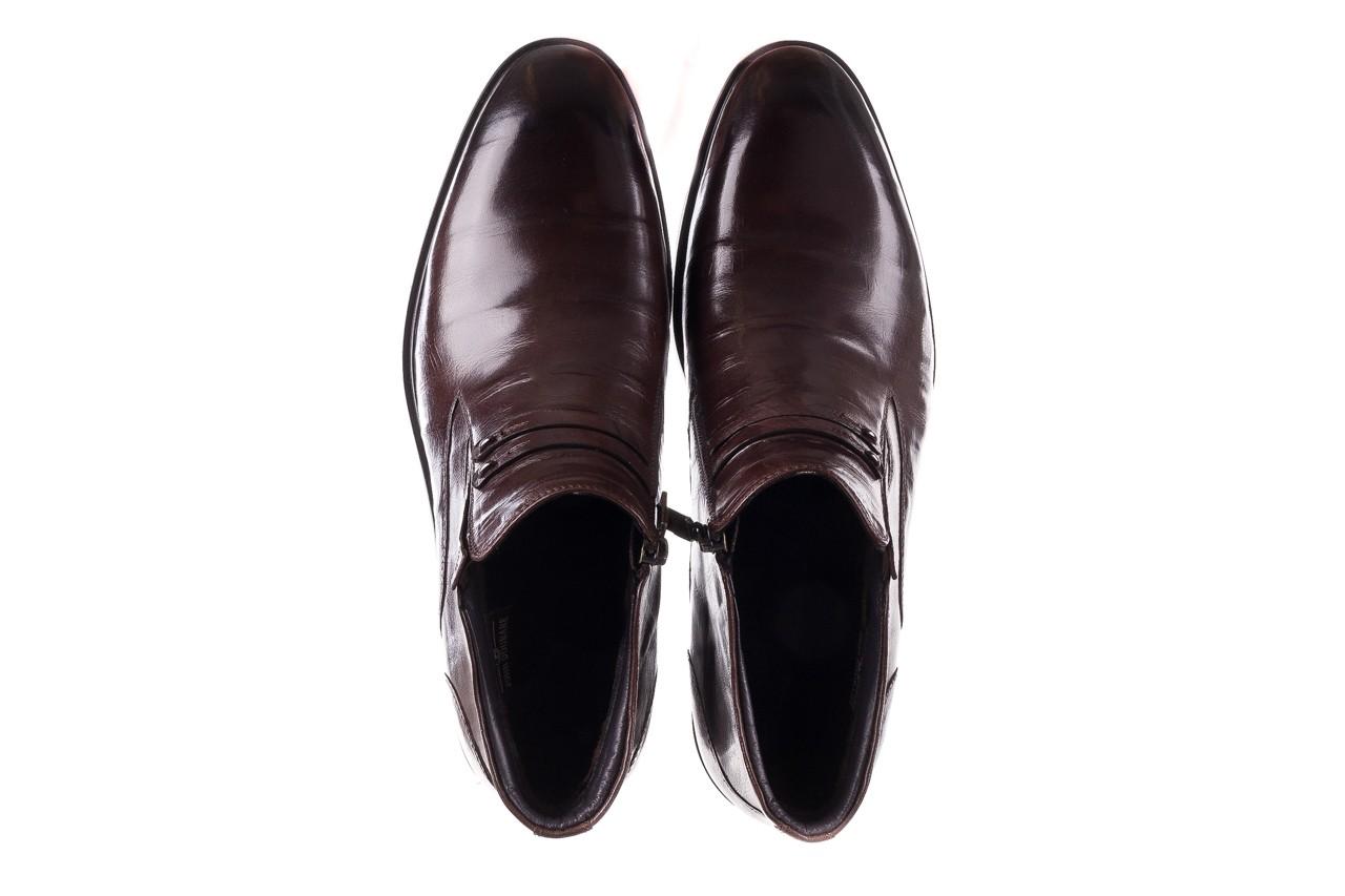 Półbuty john doubare ygfr-z102-310-1 brown, brązowe, skóra naturalna - bayla exclusive - trendy - mężczyzna 12