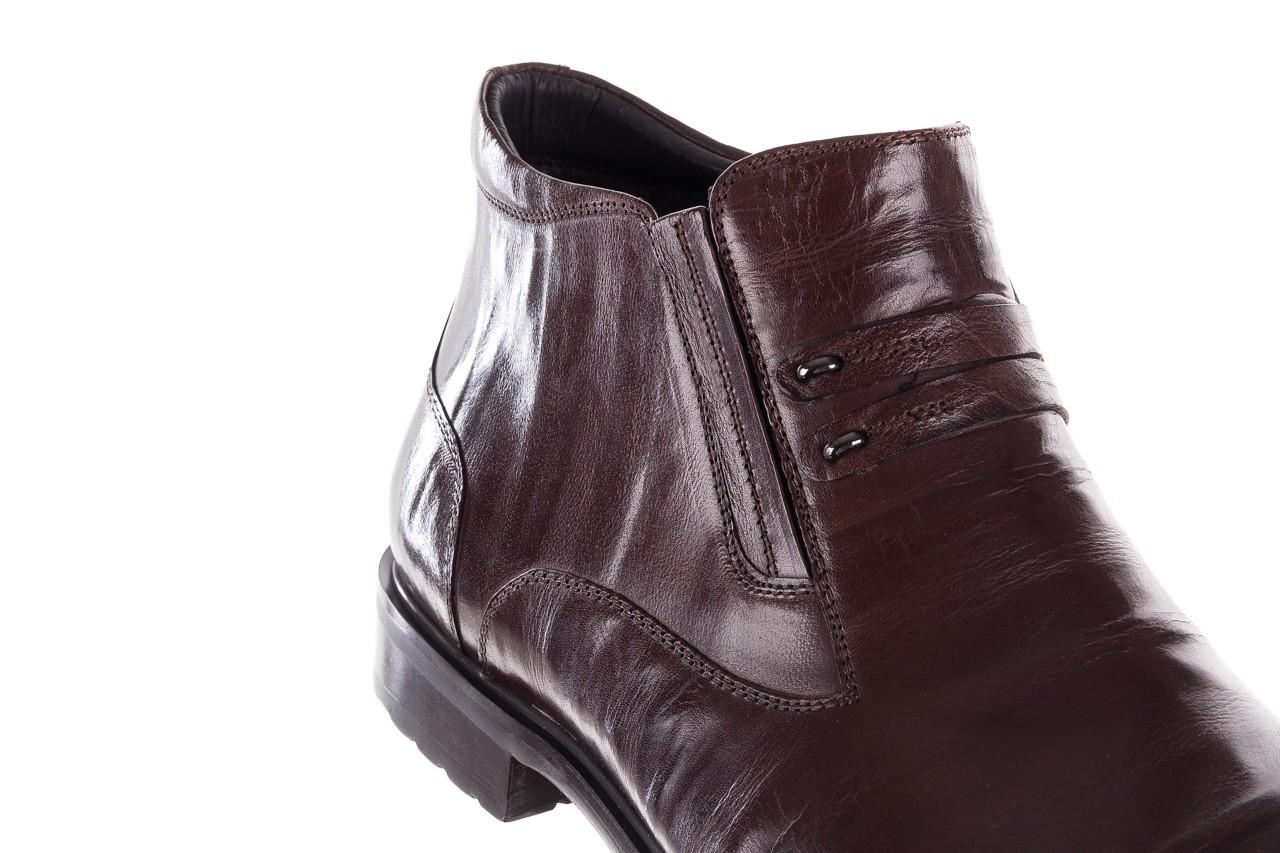 Półbuty john doubare ygfr-z102-310-1 brown, brązowe, skóra naturalna - bayla exclusive - trendy - mężczyzna 13