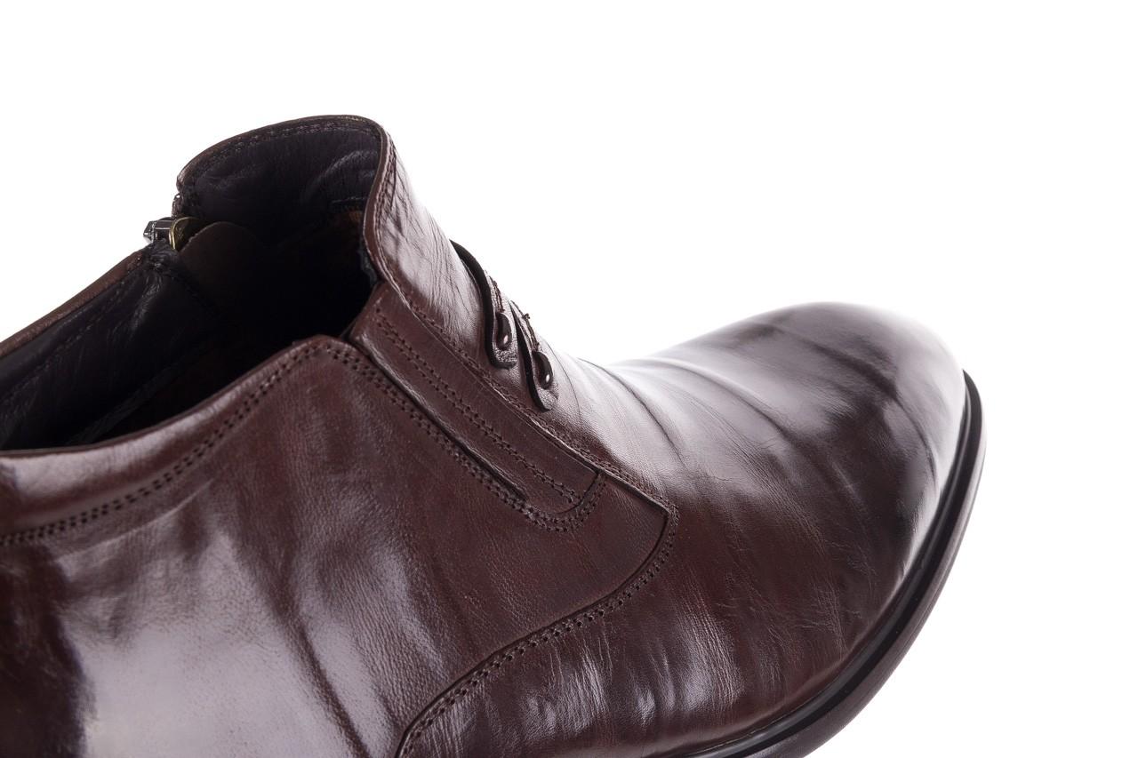 Półbuty john doubare ygfr-z102-310-1 brown, brązowe, skóra naturalna - bayla exclusive - trendy - mężczyzna 14