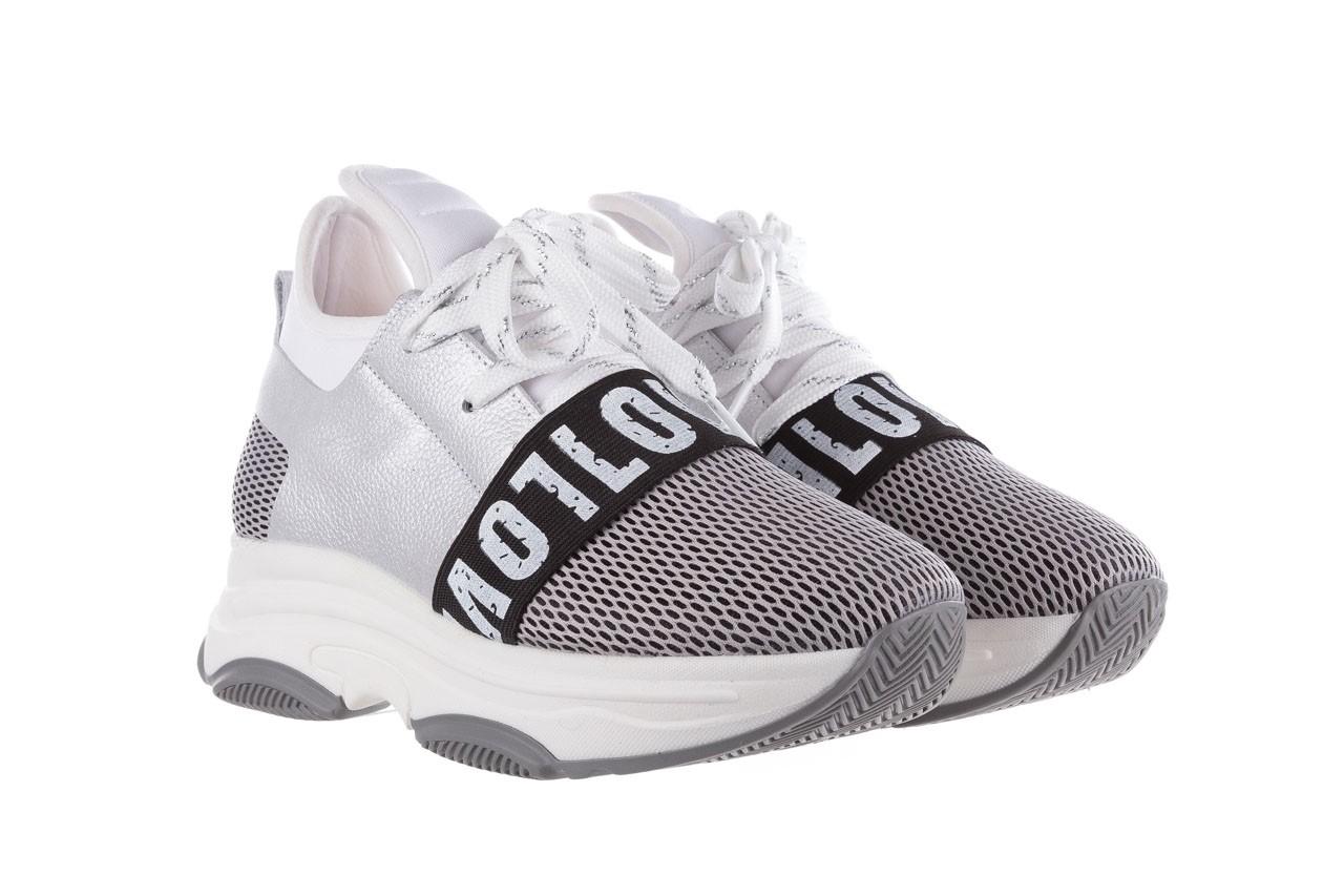 Sneakersy bayla-155 385-2800 popielate, materiał - bayla - nasze marki 9