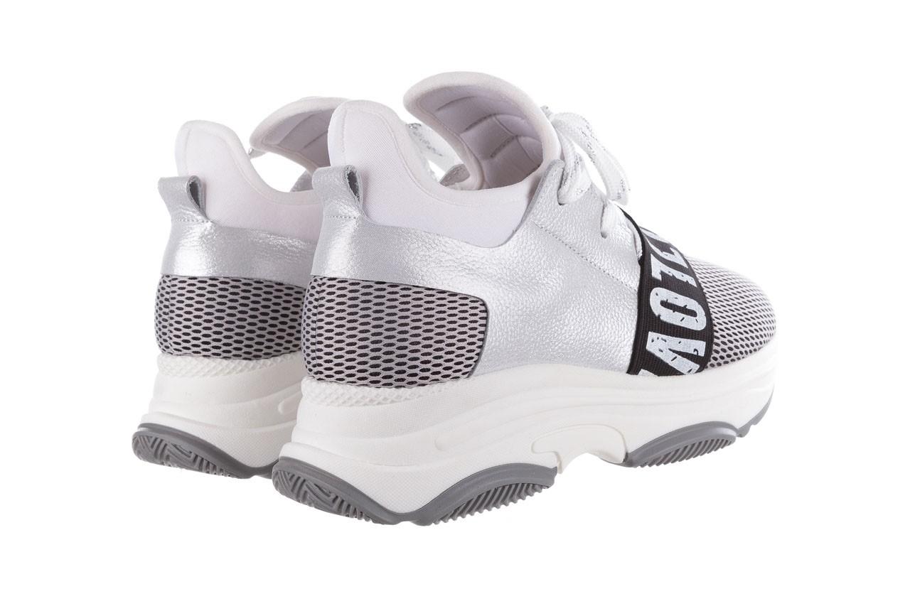 Sneakersy bayla-155 385-2800 popielate, materiał - bayla - nasze marki 11