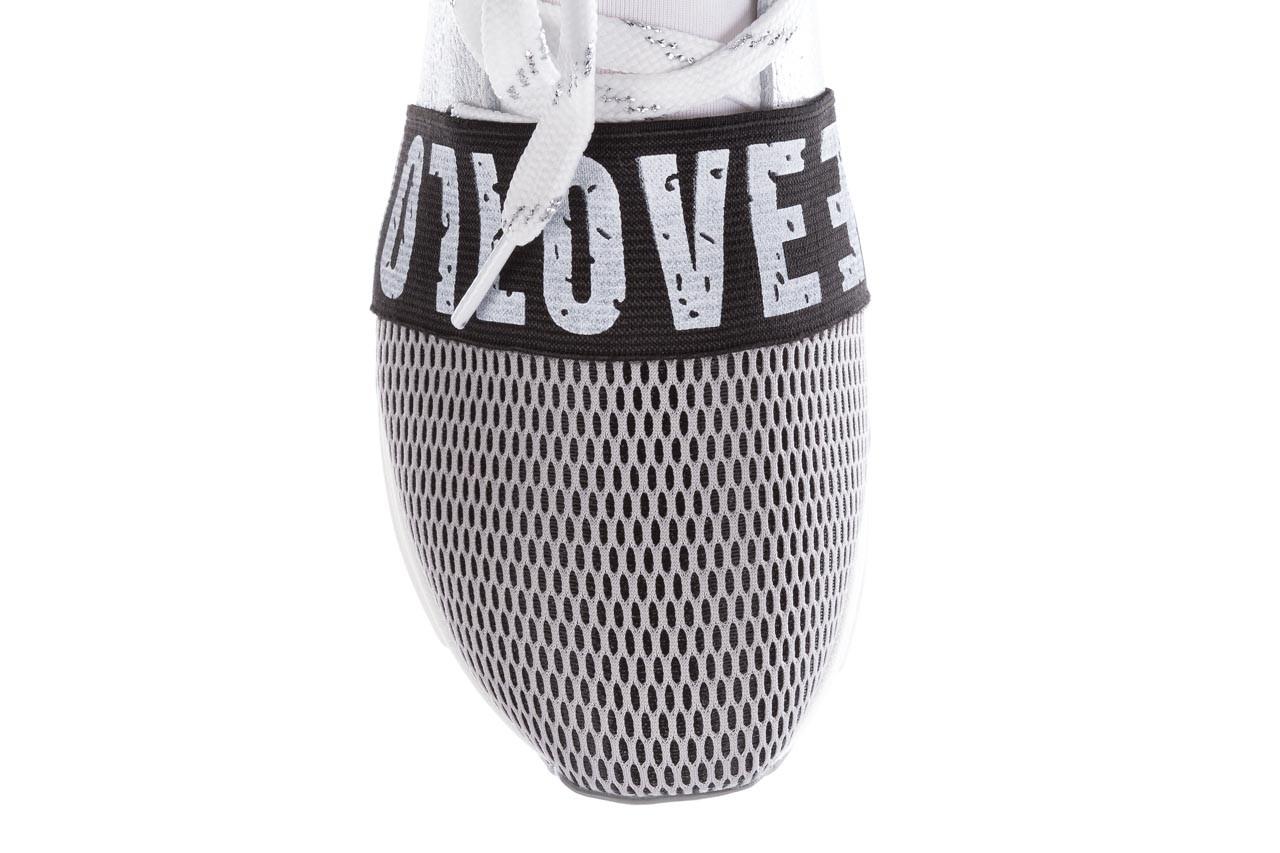Sneakersy bayla-155 385-2800 popielate, materiał - bayla - nasze marki 14