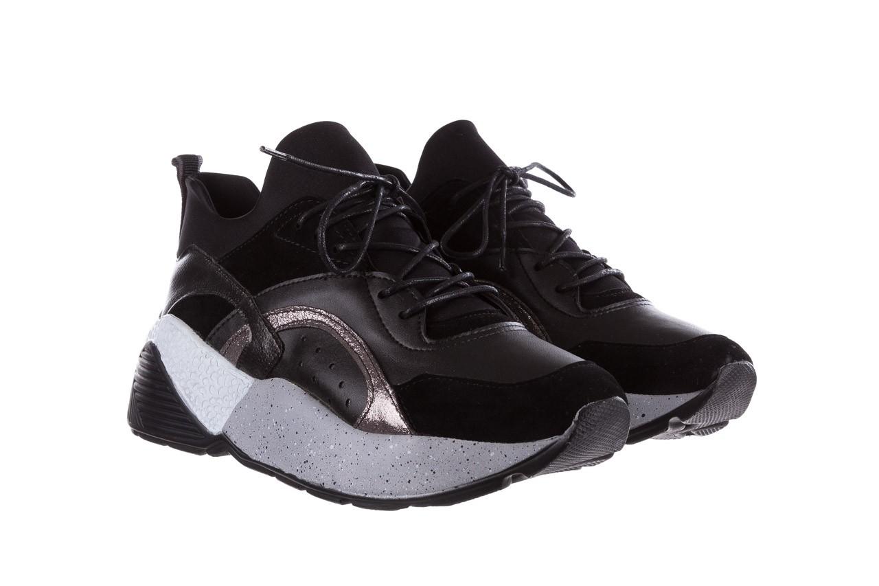 Sneakersy bayla-155 385-2758 czarne, skóra ekologiczna - bayla - nasze marki 9