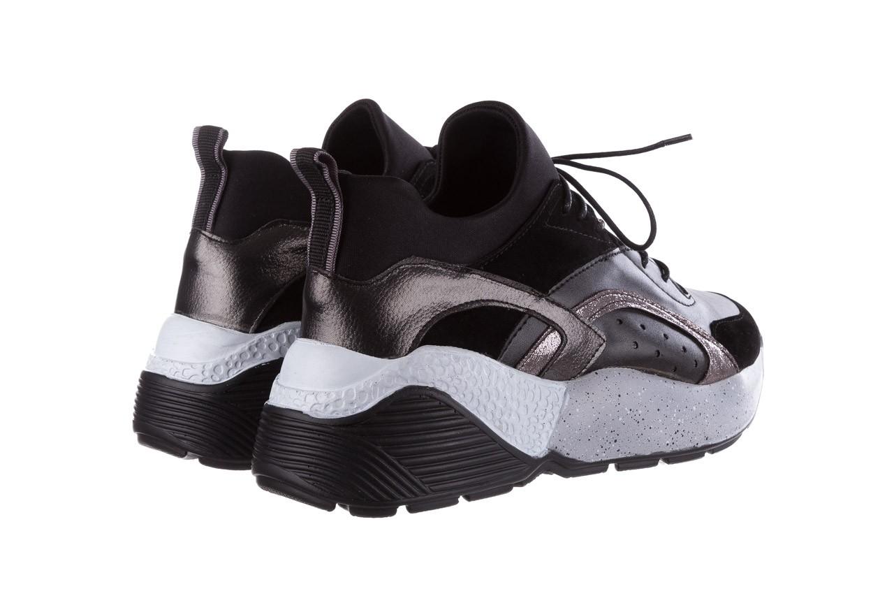 Sneakersy bayla-155 385-2758 czarne, skóra ekologiczna - bayla - nasze marki 11
