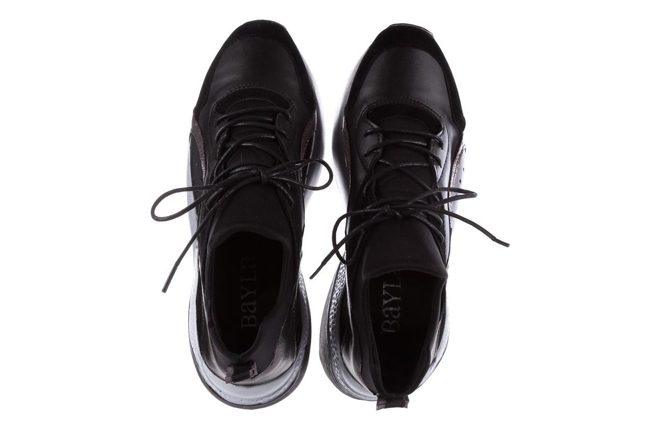 Bayla-155 385-2758 czarne sneakersy 19 - obuwie sportowe - dla niej  - sale 12