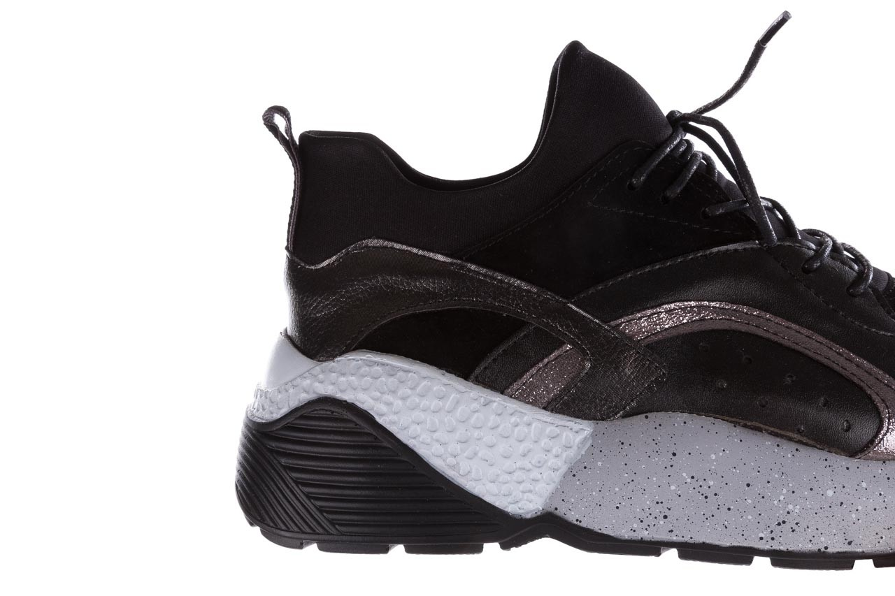 Sneakersy bayla-155 385-2758 czarne, skóra ekologiczna - bayla - nasze marki 14