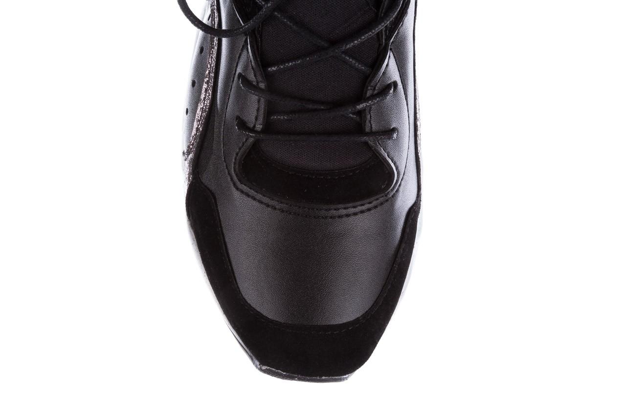 Sneakersy bayla-155 385-2758 czarne, skóra ekologiczna - bayla - nasze marki 15