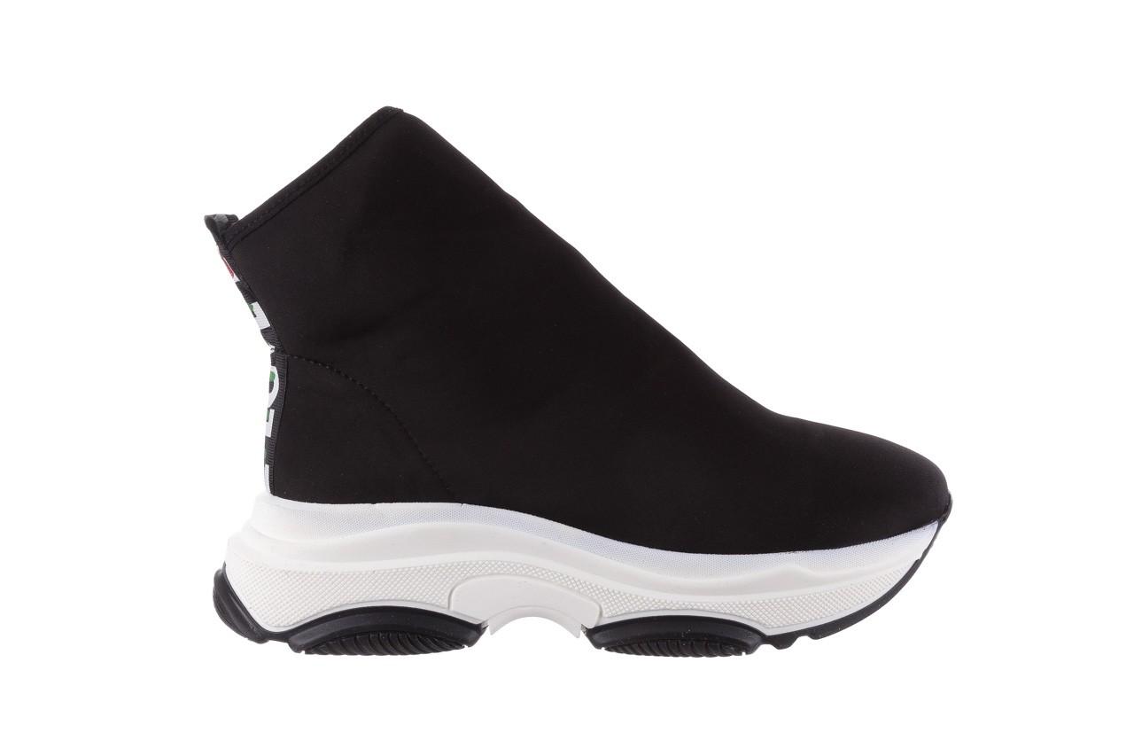 Sneakersy bayla-155 001-002 czarne sneakersy 19, czarny, materiał - sneakersy - buty damskie - kobieta 8