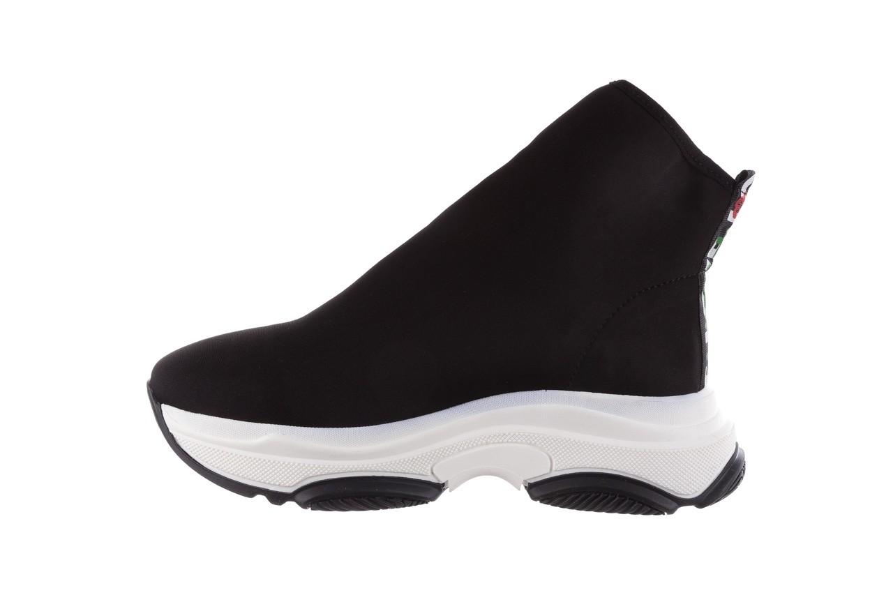 Sneakersy bayla-155 001-002 czarne sneakersy 19, czarny, materiał - sneakersy - buty damskie - kobieta 10