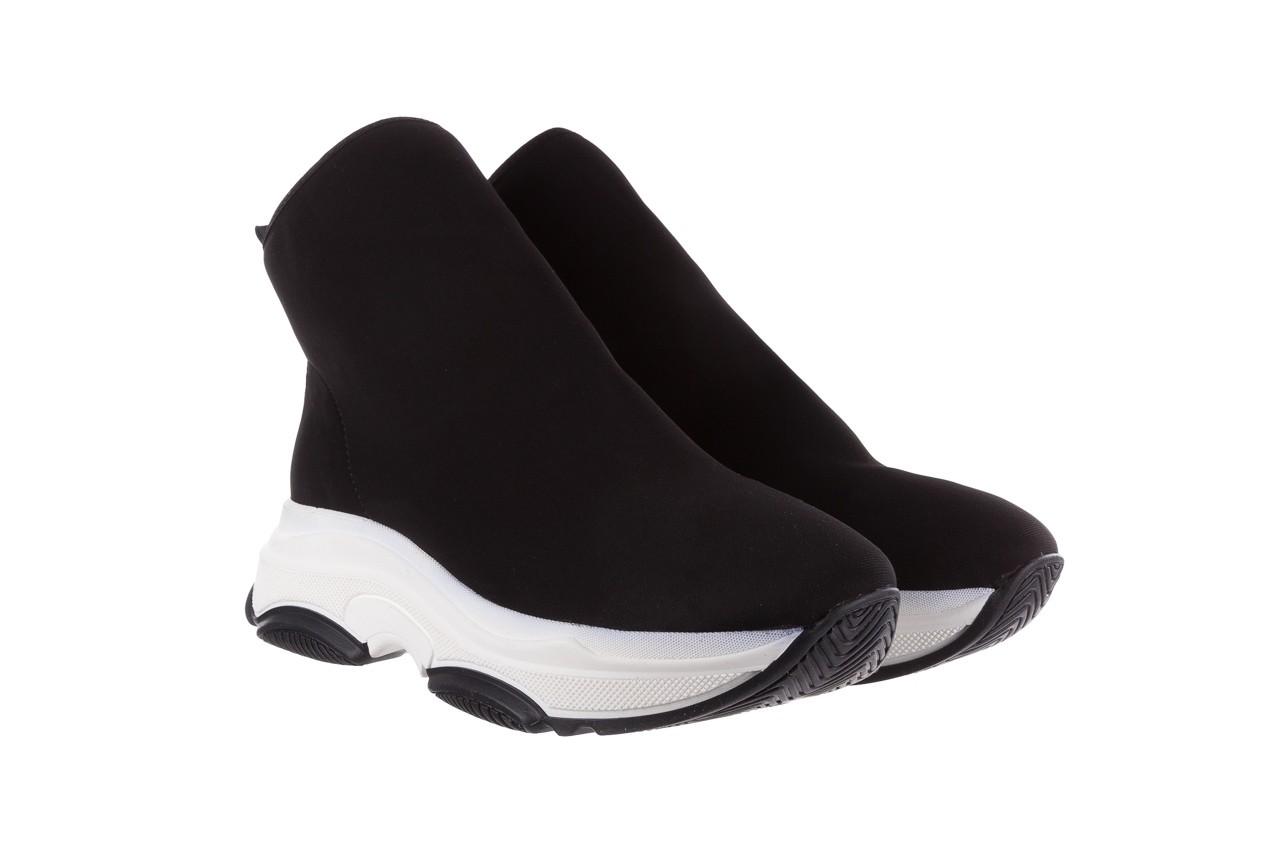 Sneakersy bayla-155 001-002 czarne sneakersy 19, czarny, materiał - sneakersy - buty damskie - kobieta 9