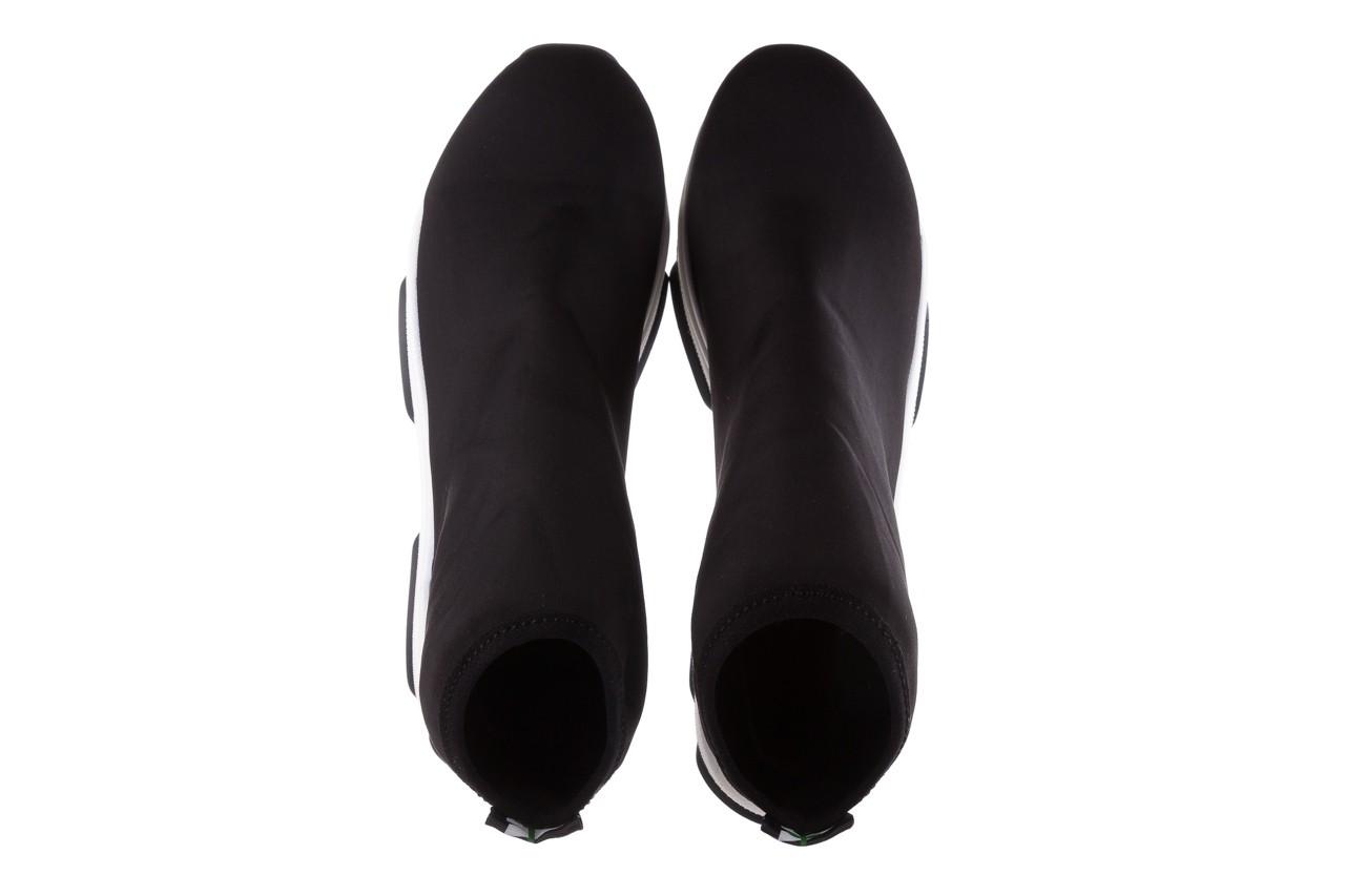 Sneakersy bayla-155 001-002 czarne sneakersy 19, czarny, materiał - sneakersy - buty damskie - kobieta 12