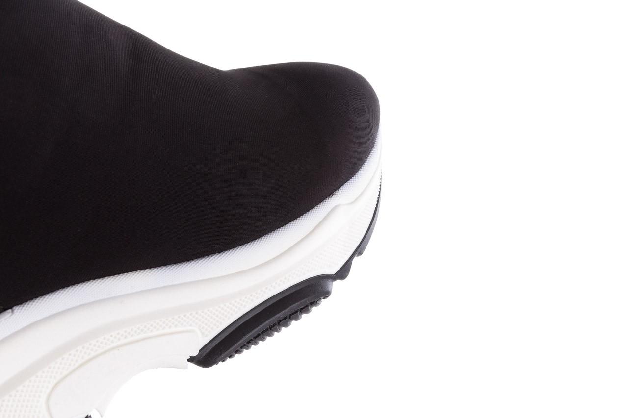 Sneakersy bayla-155 001-002 czarne sneakersy 19, czarny, materiał - sneakersy - buty damskie - kobieta 14