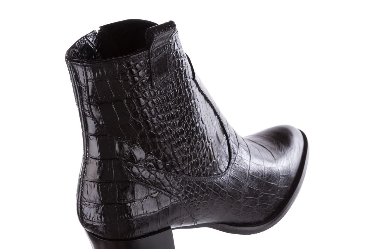 Botki bayla-097 32 kowbojki skóra krokodyla, skóra naturalna - bayla - nasze marki 14