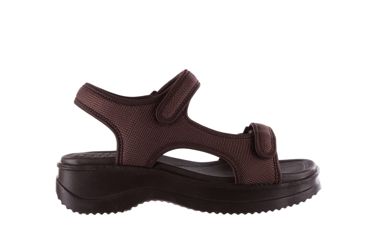 Sandały azaleia 320 323 brown 19, brąz, materiał 7